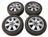 "FORD MONDEO MK4 16"" 7 SPOKE ALLOY WHEEL 205 55 16 SET x 4 2007 - 2015"